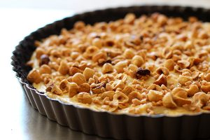 Chocolate Hazelnut Tart recipe