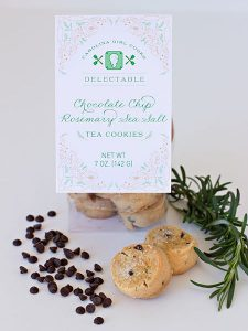 Chocolate Chip Rosemary Sea Salt Topper Packs