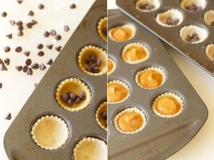 How to make Chocolate Bourbon Caramel Mini Pumpkin Pies