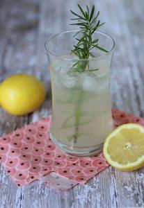 Fresh Lemon Ginger Fizz
