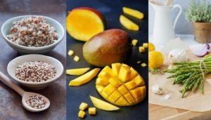 Asparagus and mango quinoa salad recipe