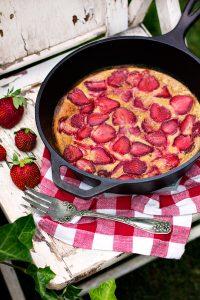 Strawberry Clafoutis recipe