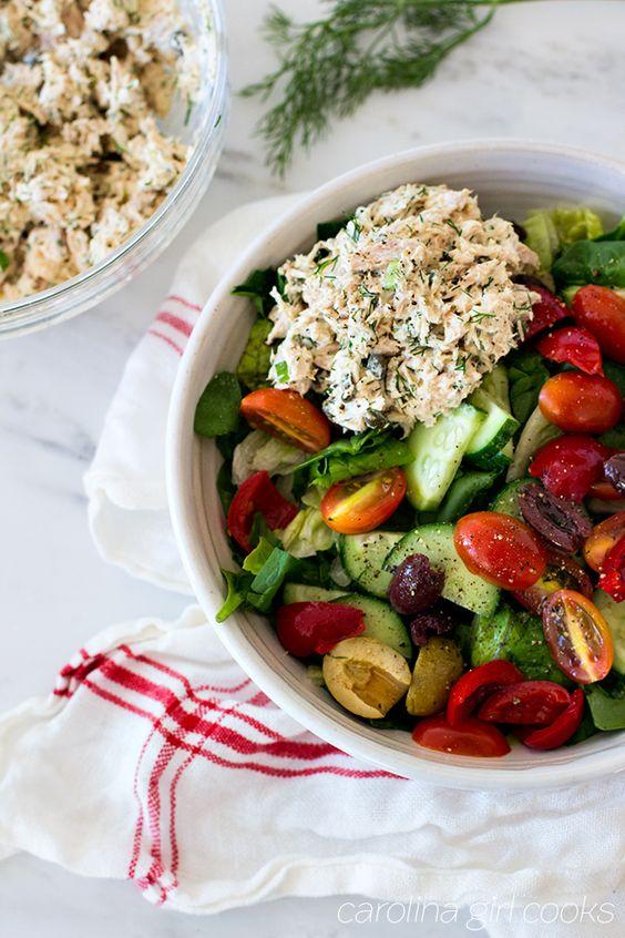 Whole30 Greek Tuna Salad