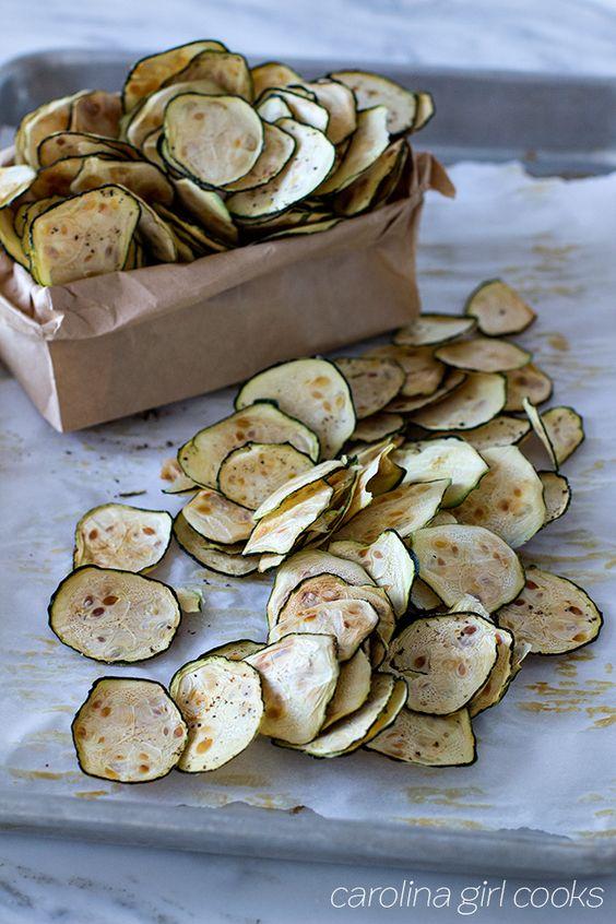Whole30 Zucchini Chips