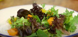 How to make Fall Salad with Apple Cider Vinaigrette
