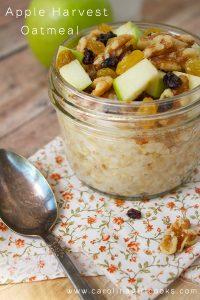 Apple Harvest Oatmeal