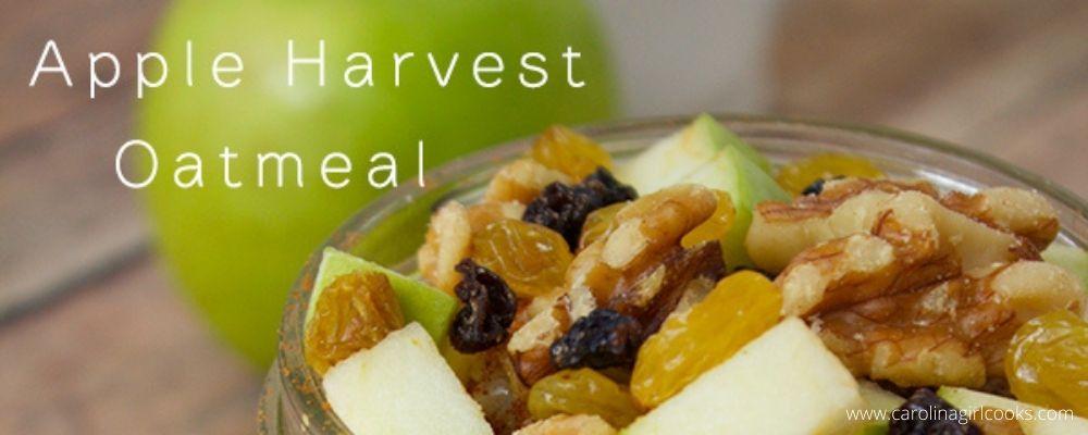 Best Apple Harvest Oatmeal recipe