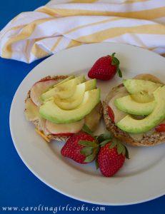 Breakfast Sandwich on table