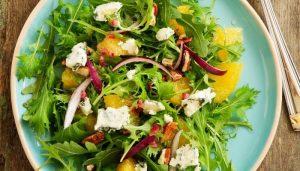 Herb Box Salad on table