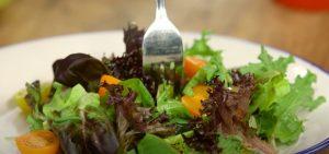 Fall Salad with Apple Cider Vinaigrette
