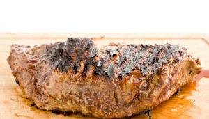 Garlic Rubbed Tri Tip Steak