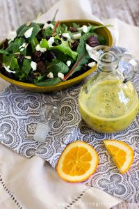 Orange Vinaigrette and Copy Cat Herb Box Salad