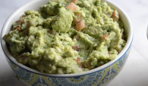 Chipotle Chicken with Sweet Potatoes and Easy Guacamole recipe