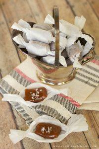 Best Salted Bourbon Caramels recipe
