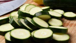 zucchini slices
