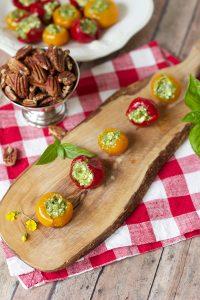 stuffed peppadew peppers