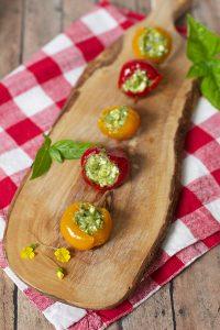 A nice stuffed peppadew peppers