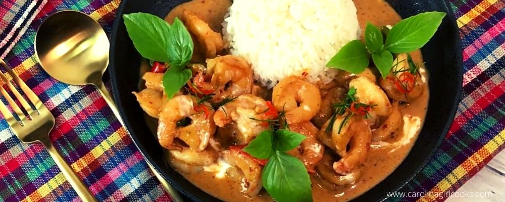 Thai Shrimp Panang Curry