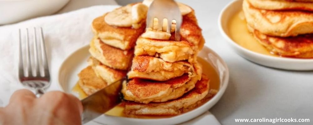 Nice and healthy whole30 banana pancake