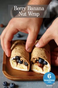 blueberry banana wraps recipe